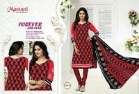Mastani Cotton Ladies Salwar Kameez Suit Fabric