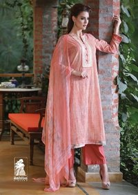 Mannat Ladies Cotton Digital Print With Embroidery Suit