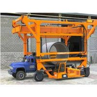 Cement Pipe Handling Truck