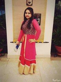 Indo Western Full Length Ladies Dress