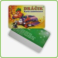 Green Card PVC Printing Or Blank Card