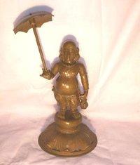 Metal Hindu God Statue
