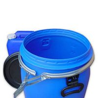 Used HDPE Container