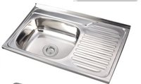 Stainless Steel Single Bowl Kitchen Sink (ON8050C)