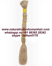 Virgin Blond Human Hair