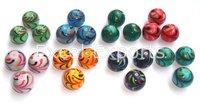 Fancy Round Glass Beads