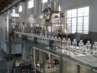 Plastics Pet Bottle Mineral Water Filling Machine