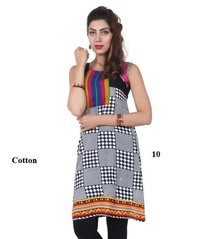 Trendy Cotton Women Kurti
