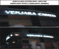 Acrylic Box Letter with LED