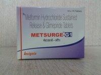 Cardiac and Diabetics / METSURGE-G 1 Tablets