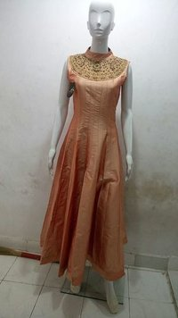 Stunning Self Designed Party Gown