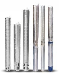 Stainless Steel Borewell Submersible Pump Set