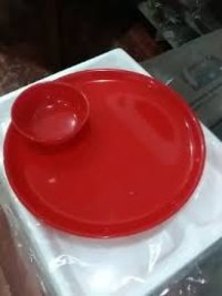 Acrylic Plate And Bowls