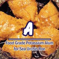 Exclusive Food Grade Potassium Alum For Sea Urchin Roe