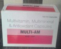 Multivitamin, Multimineral and Antioxidant Capsules