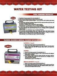 Water Testing Kit For Total Hardness Estimation