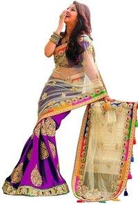 Designer Sarees (Latkan Purple)