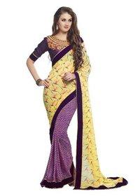 Designer Sarees (Valentine Yellow)