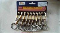 Gold Hundred Brand Key Chain