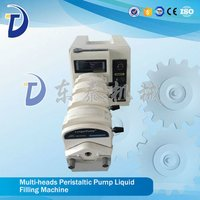 Small Portable Digital Control Peristaltic Pump Liquid Filling Machine