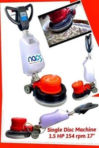 Single Disc Floor Scrubber Polisher And Buffing Machine