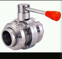 Stainless Steel Dairy Butterfly Valves