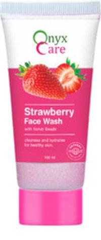 Strawberry Face Wash With Scrub Beads