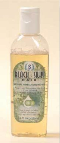 BLACK & SILKY HERBAL HAIR OIL