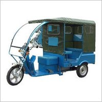 Battery Operated Electric Auto Rickshaw