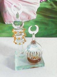 Glass Macca And Madina Statue