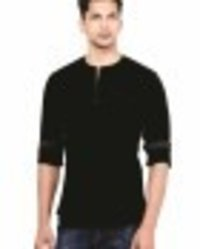 Casual Short Kurtas Black