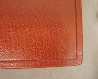 Burnishing Leather Edges