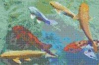 Pond Design Handmade Tiles