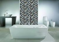 Dotted Glass Mosaic Tiles