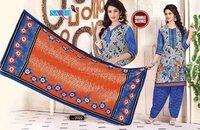 Ladies Printed Cotton Salwar Suit