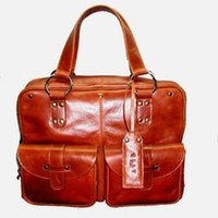 Durable Womens Office Leather Bag