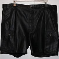 Stylish Sydney Leather Shorts
