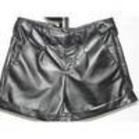 Bazzar Pure Leather Shorts