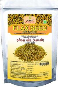 Flax Seeds With Turmeric