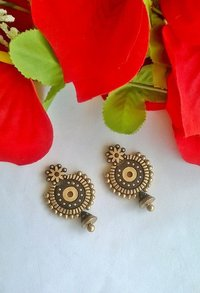 Ethnic Handmade Terracotta Earrings