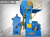 Rotary Barrel Type Sand Blasting Machine