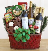 Wicker Gift Baskets For Holiday