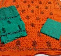 Cotton Applique Suits
