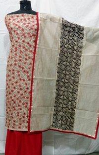 Cotton Chanderi Suits