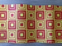 Attractive Check Box Patterns Non Woven Fabric