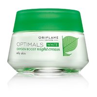 Oriflame Optimals White Oxygen Boost Night Cream For Oily Skin