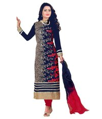 Printed Unstitched Ladies Suits Fabrics