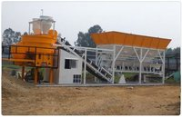 Industrial Concrete Batching And Mixing Plant