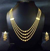 Gold Beads Set