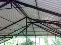 Metal Roof Sheet Work